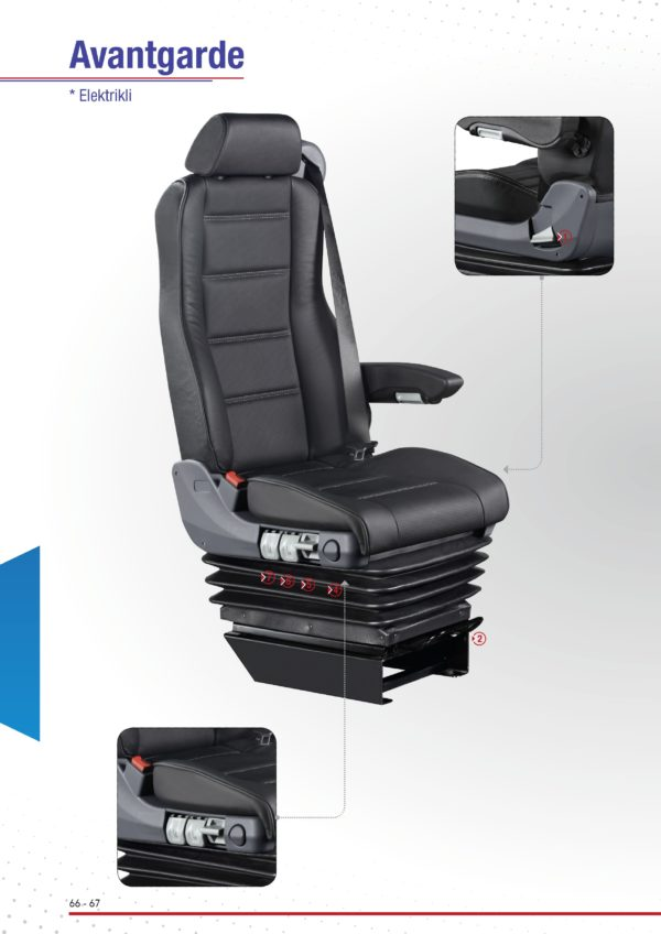 Seat Driver Bus