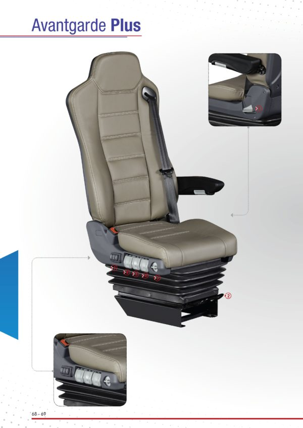 Driver Bus Seat