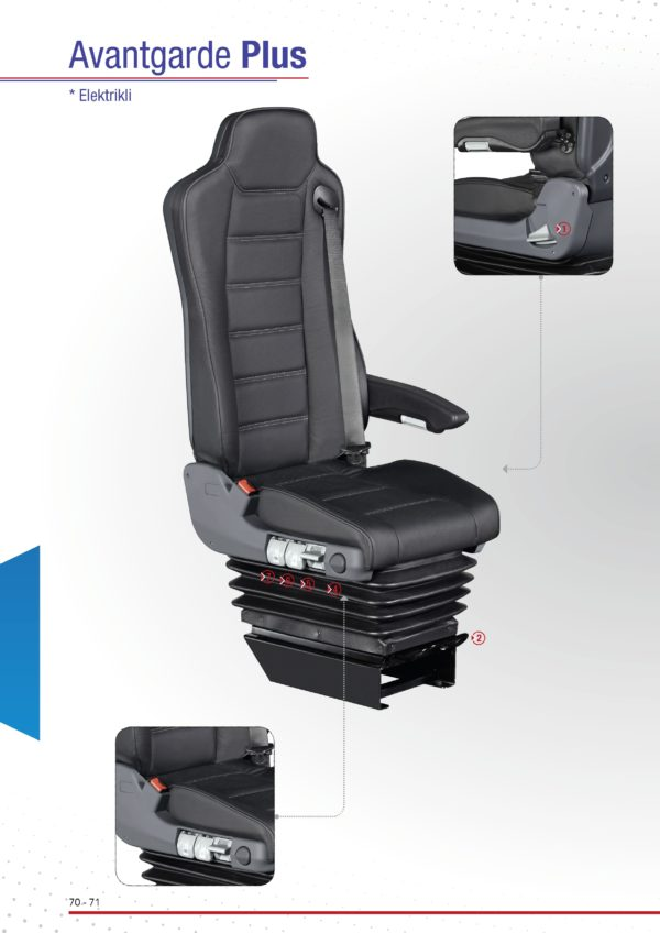 Bus Driver Seats