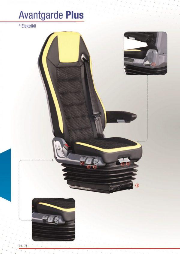 Coach Driver Seat