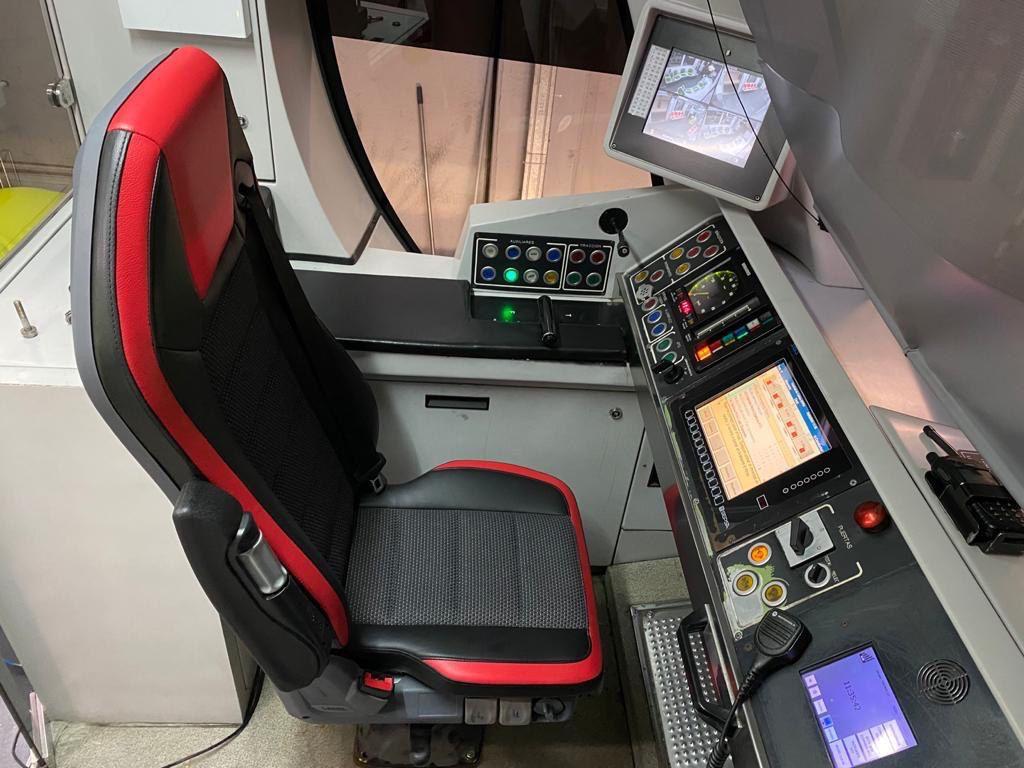 train driver seats